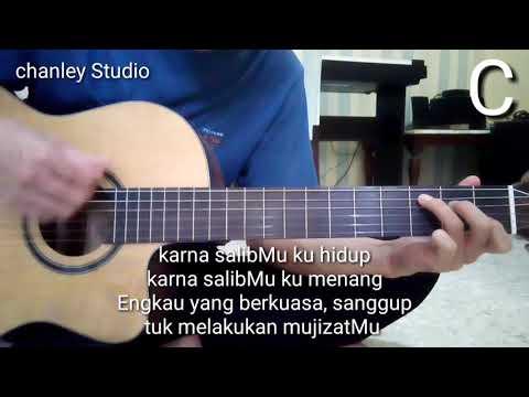 belajar gitar karna salibMu