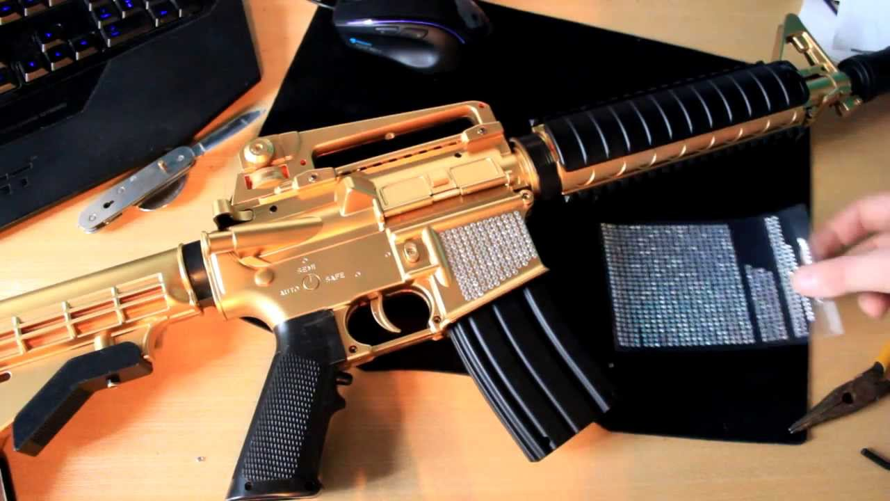 how to quotdiamond camo your airsoft bb gunquot youtube
