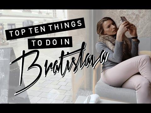 TEN THINGS TO DO IN BRATISLAVA | TRAVEL VLOG | MON MODE