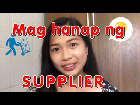 Paano mag hanap ng SUPPLIER kahit nasa BAHAY? : Tip #2 ( Paano mag simula ng ONLINE SHOP)