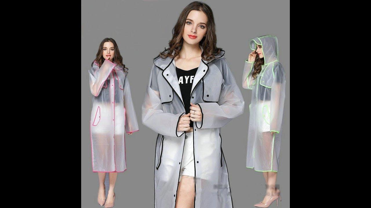 The New Raincoat Trend Transparent Raincoat Designs 2018 & 2019 Spring Lookbook