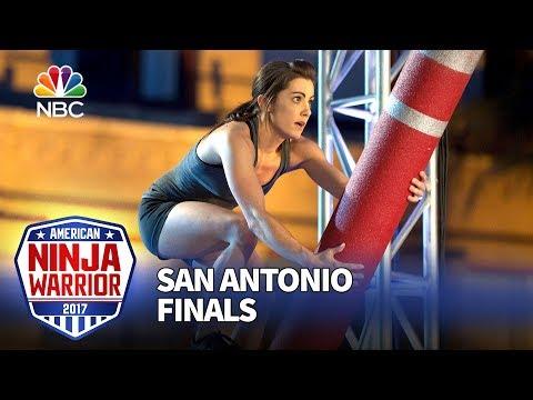 Kacy Catanzaro at the San Antonio Finals - American Ninja Warrior 2017