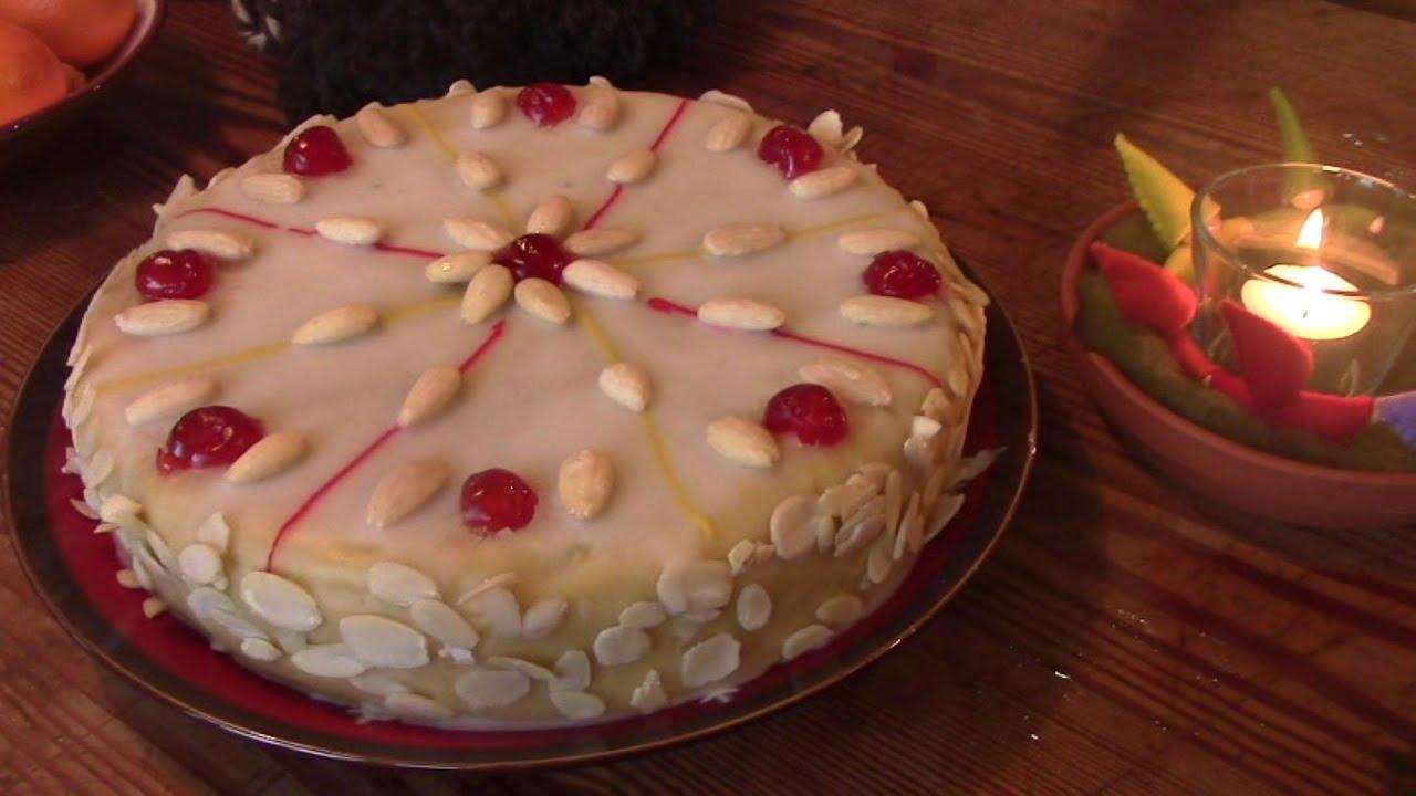 Traditioneller irischer Früchtekuchen zu Weihnachten: Rezept für ...