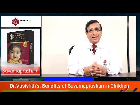 Dr.Vasishth's: Benefits of Suvarna-prashan in children