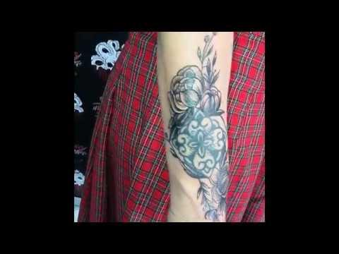 Correzione vecchio tatuaggio eseguito da GRETA