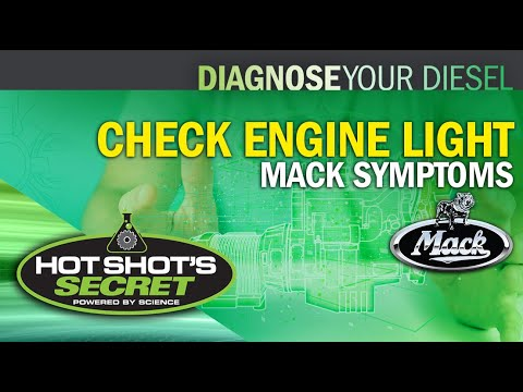 Check Engine Light - Mack Symptoms