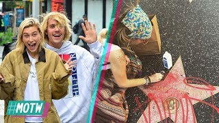 Justin Bieber & Hailey Baldwin ENGAGED!? Paris Jackson Cleans Michael Jackson Hollywood Star! | MOTW
