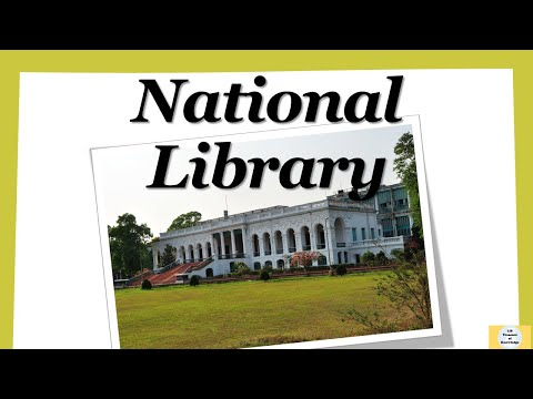 What is National library | National library of India