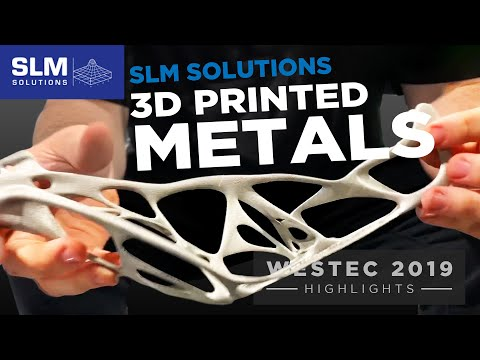 SLM Metal 3D Printing - The Next Level Of Superalloy (Inconel, Titanium) Additive Manufacturing