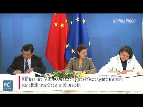 Aviation cooperation enhances China-EU relations