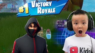 MY 1st WIN Fortnite CKN Gaming