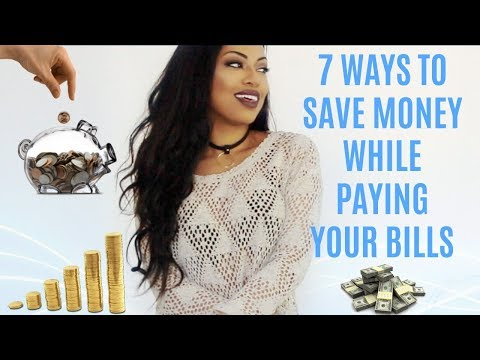 HOW TO SAVE MONEY WHILE PAYING BILLS | THE ONLY SAVING TIPS YOU NEED!!!