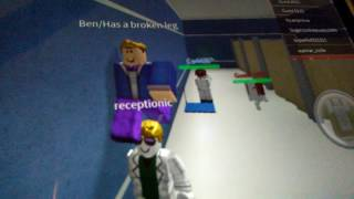 The Day I Had A Broken Leg In ROBLOX