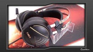 gamdias Hebe M1 RGB - Konkretne suchawki z mikrofonem na USB