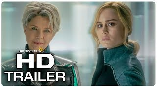 Carol Meets Supreme Intelligence Scene Extended | CAPTAIN MARVEL (2019) Movie CLIP HD