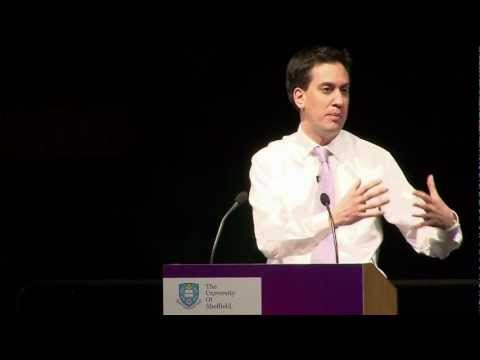 Ed Miliband's SPERI inaugural lecture at the University of Sheffield - full version