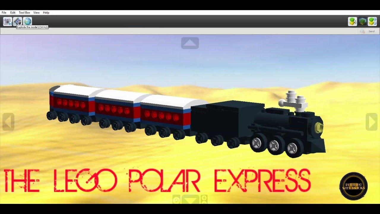 polar express lego train set # 13
