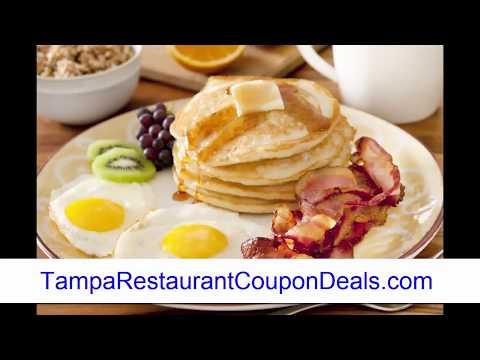 Tampa Florida Restaurant Coupons and Deals