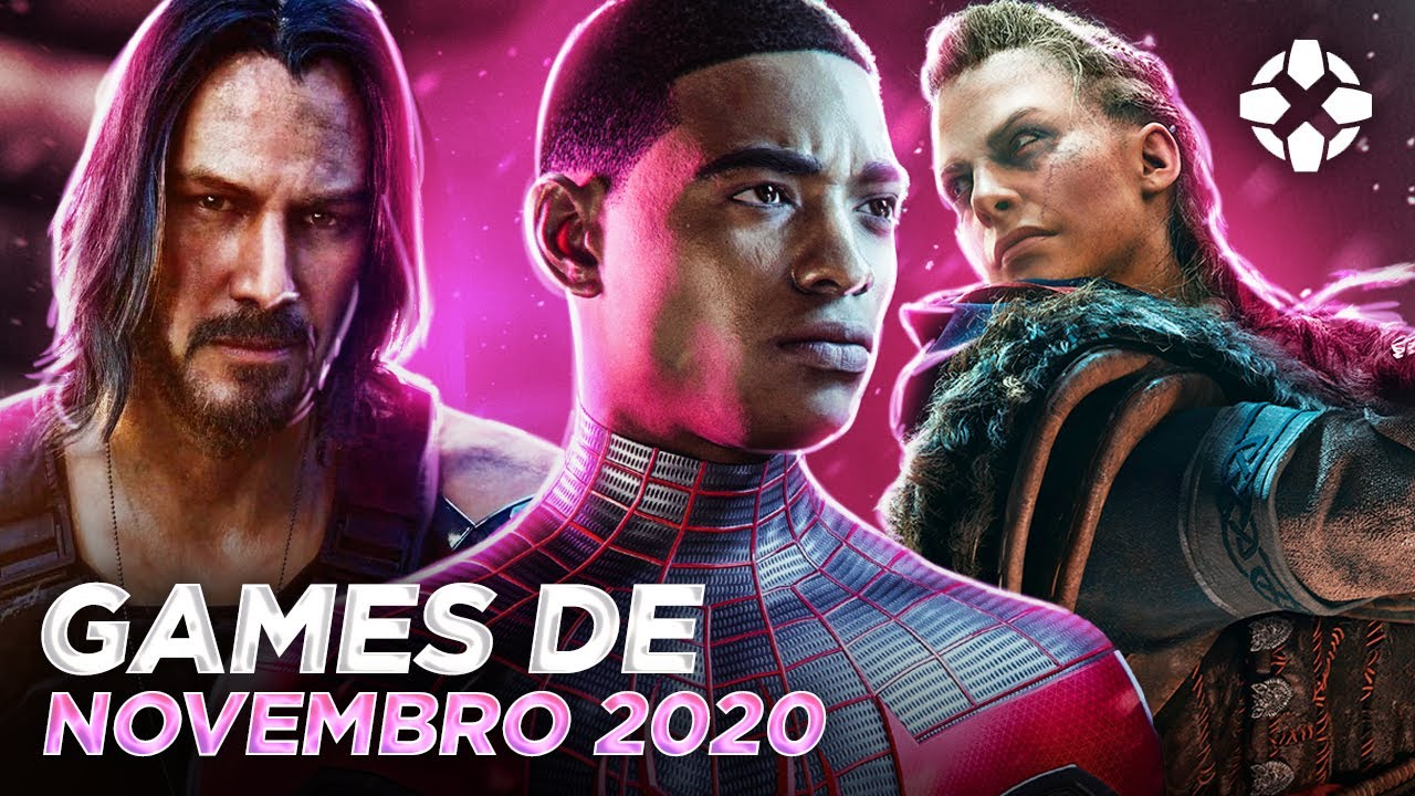 LANÇAMENTOS DE GAMES - NOVEMBRO 2020 (PLAYSTATION, XBOX, SWITCH E PC)