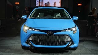 OUTSTANDING! 2019 TOYOTA COROLLA HATCHBACK NEW CHANGES