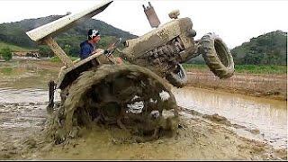 Эти трактора в грязи не застрянут. Болотные монстры
