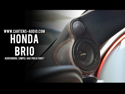 Audio Mobil HONDA BRIO | 3 Ways System with Simple Box