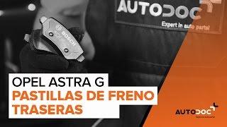 Tukivarsi asennus OPEL ASTRA G Hatchback (F48_, F08_): ilmainen video