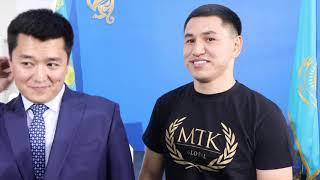 'COME, WATCH WORLD TITLE FIGHT & FUTURE KAZAKH STARS FOR $1' -ZHANKOSH TURAROV & ASKAR (KAZAKHSTAN)