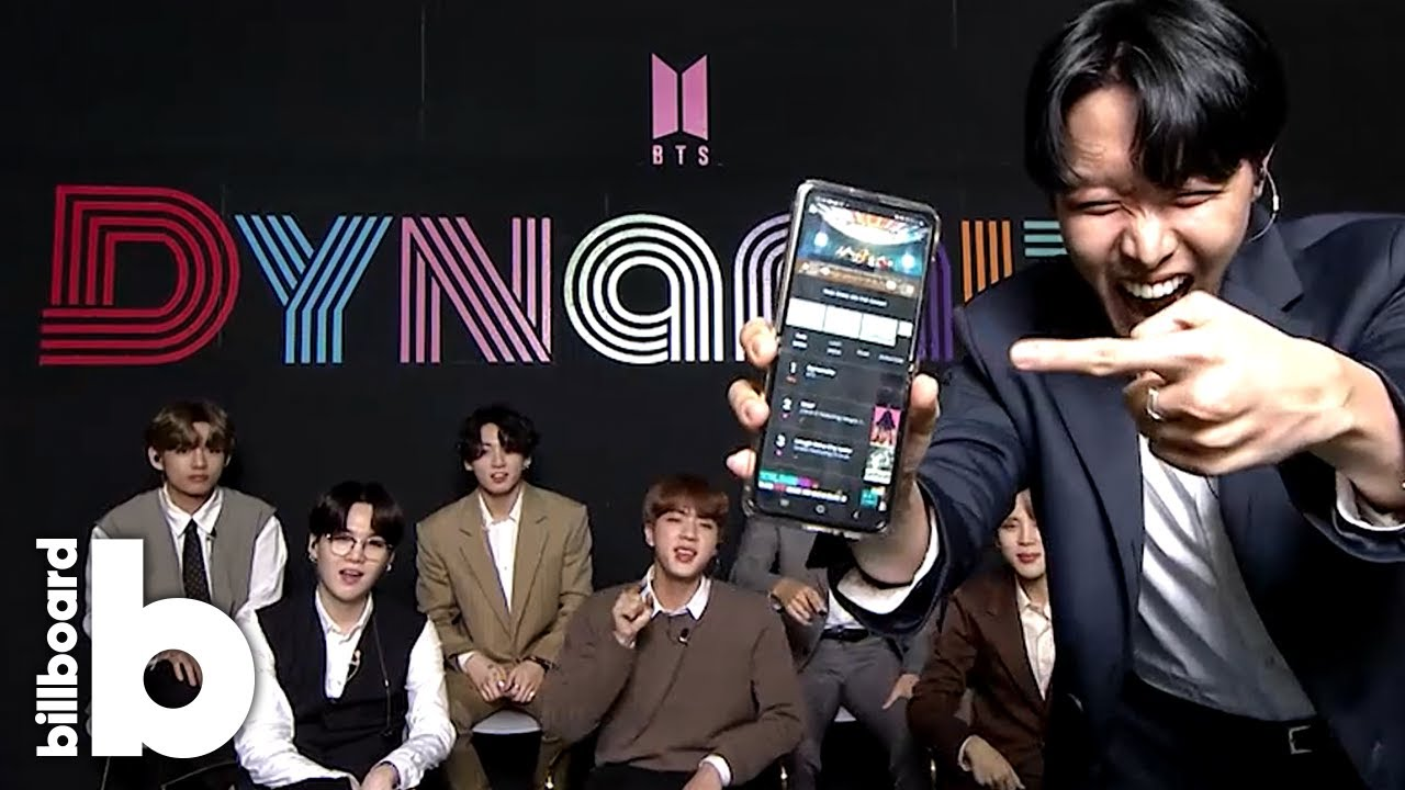 Bts React To Their First Hot 100 No 1 Hit Dynamite And Tease What S Next Billboard News Youtube