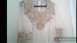 Traditional Albanian Female Bride Clothing / Costumes ( Kemisha për nuse Shqiptare )