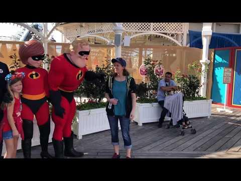 Disneyland California Adventure Walk Through-February 2018 4K
