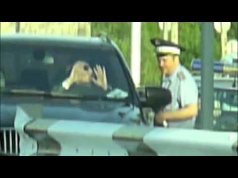 Moscow, Russia - MP Violates Road Traffic Law