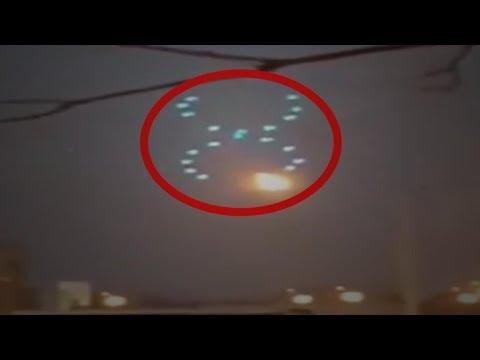 Los OVNIs no estaban actuando de manera usual