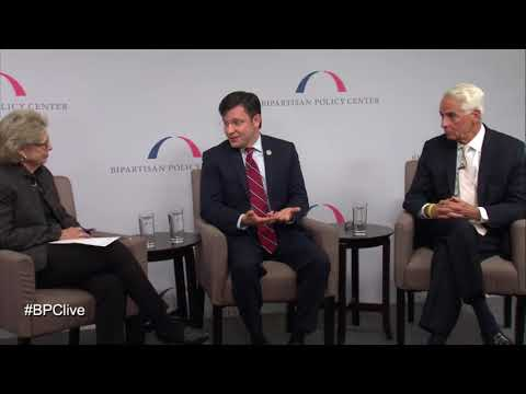 Reps. Johnson and Crist speak on civility at Bipartisan Policy Center