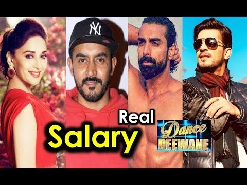 Real SALARY of Dance Deewane Judges and Host - Per Episode Fees