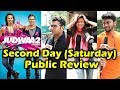Judwaa 2 PUBLIC REVIEW - Second Day - Housefull Theatres - Varun Dhawan