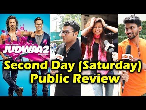 Judwaa 2 PUBLIC REVIEW - Second Day - Housefull Theatres - Varun Dhawan