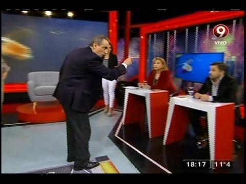Guillermo Moreno mantuvo un duro cruce con un economista en un programa de televisión