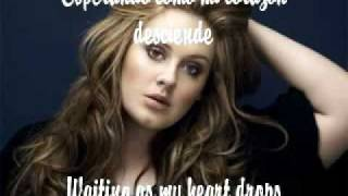 Adele- Chasing Pavements- Español/ English Lyrics