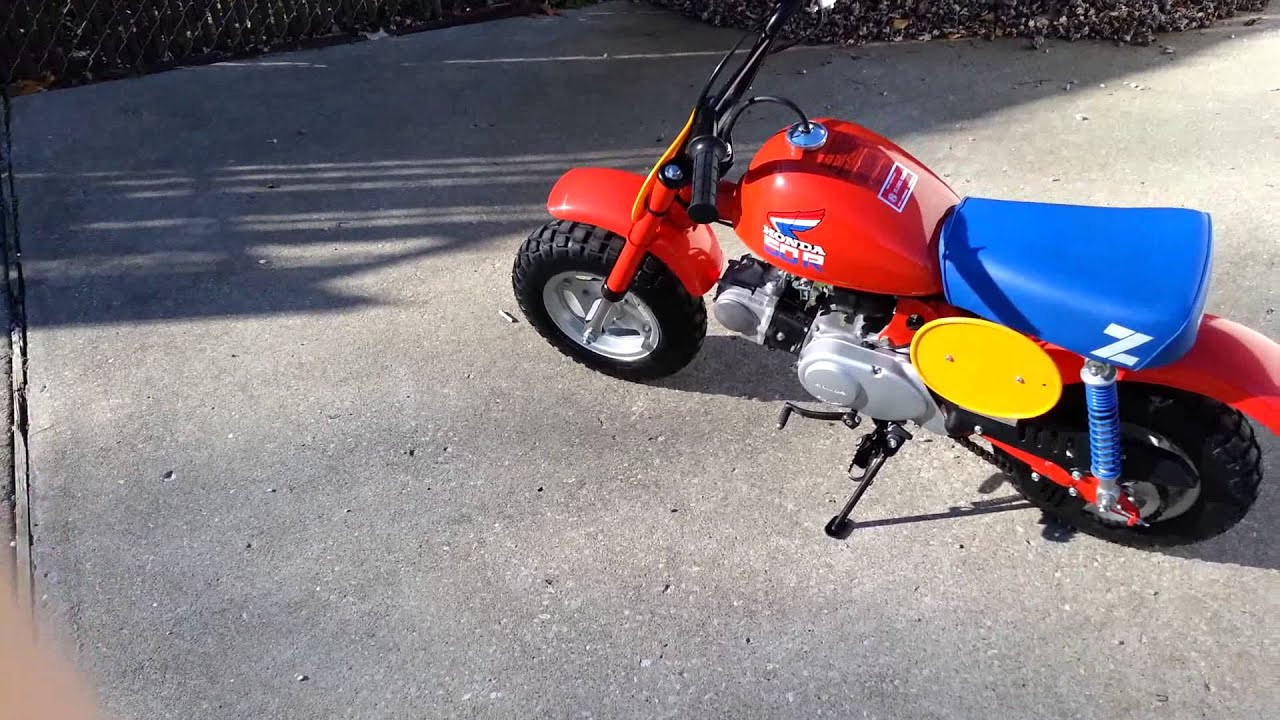 1985 Honda Z50r Z 50 R Youtube