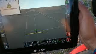 System prowadzenia równoległego GPS TOPCON X35 z UNIA EUROPA XL - pierwsze uruchomienie.