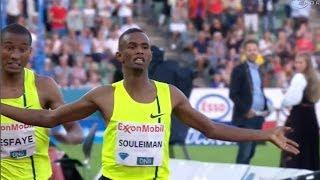 Ayanleh Souleiman wins Dream Mile again - Universal Sports