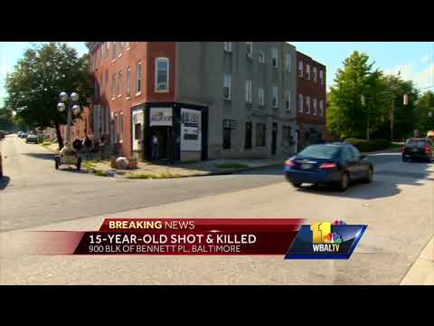 Video: 15-year-old boy fatally shot in Baltimore