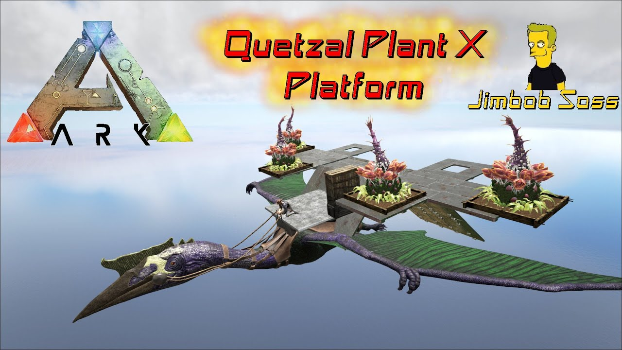 Ark Survival Evolved Quetzal Turret Youtube