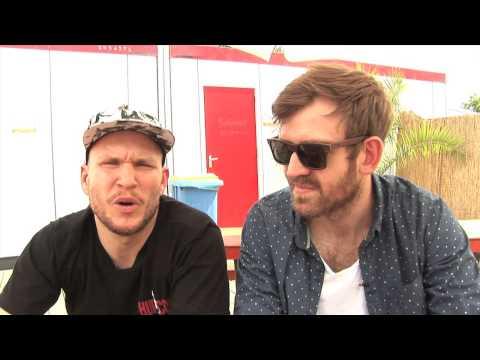 Little Dragon interview - Erik & Fredrik (part 1)