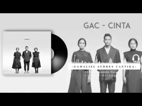 Gamaliel Audrey Cantika - Cinta Acoustic Version (Audio Visualizer)