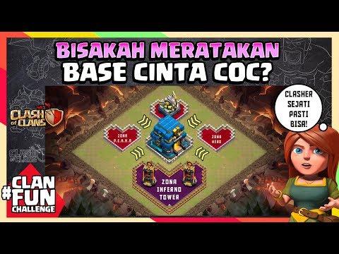 CLASHER Yang CINTA CoC Pasti BISA RATAIN BASE INI!!   CFC Indonesia