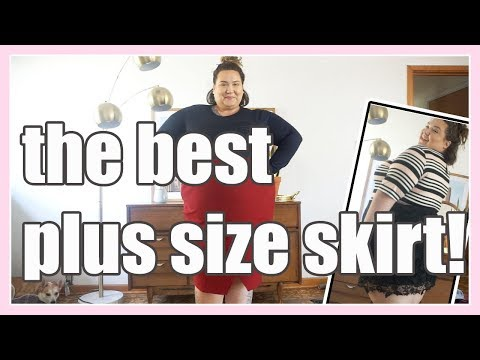 The BEST Plus Size Skirt?!!?!?!? Try-on Haul