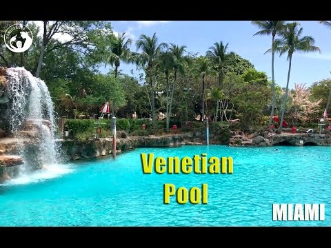 Venetian Pool in Miami, Coral Gables, Florida