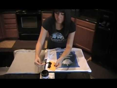 Diy t shirt screen printing how to print your own custom for Printing your own t shirts at home